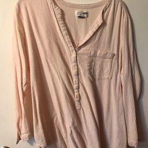 Old Navy light pink tunic XL